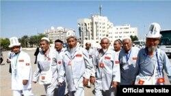 Сауд Арабия -- кыргызстандык зыяратчылар, 3-октябрь, 2013.