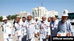 Ажылыкка барган кыргызстандык зыяратчылар