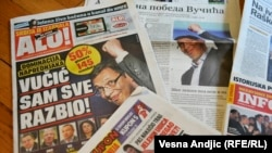 Novine u Srbiji o izbornoj noći