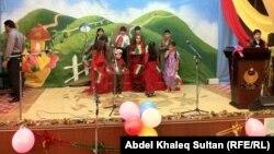 إحتفال في دهوك بمناسبة اليوم العالمي لحماية الطفل