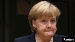 Гермaнската канцеларка Aнгела Меркел.