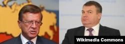 Виктор Зубков и Анатолий Сердюков