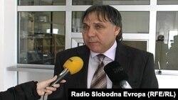 Борис Темоски, претседател на Граѓанската асоцијација за национално, културно и духовно обединување НЕ-ИМА.