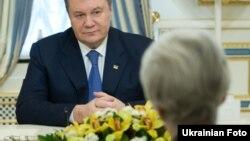 Віктор Янукович і Венді Шерман