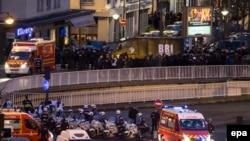 Під час операції штурму крамниці з заручниками в Парижі, 9 січня 2015 року