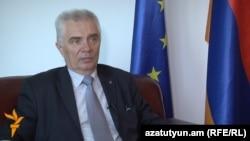 Глава делегации Евросоюза в Армении, посол Петр Свитальски (архив)