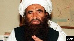 Основатель сети «Хаккани» Джалалуддин Хаккани. Октябрь 2001 года