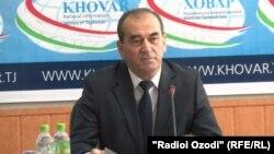 Усмонали Усмонзода, министр энергетики и водных ресурсов РТ