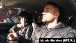Таксист Умед Рустамов из Нью-Йорка