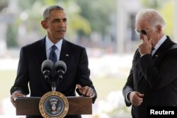 Президент Обама делает заявления после встречи с жертвами трагедии в Орландо