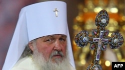 Новоизбранный патриарх, бывший митрополит Кирилл (в миру Владимир Михайлович Гундяев)