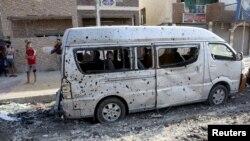 Իրաք, ահաբեկչական հերթական գործողությունից հետո, արխիվ