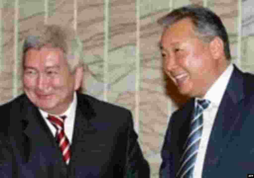 Кулов и Бакиев, октябрь, 2005
