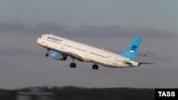 Ресейлік «Когалымавиа» әуе компаниясының Airbus A321 ұшағы.
