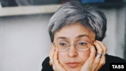 Anna Politkovskaya was murdered in October 2006. Her killer has not yet been found.