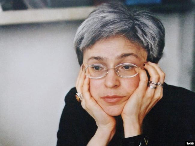 Russian jounalist Anna Politkovskaya (1958-2006)