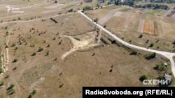 Кар'єр, де ПП «Кансталь» почало видобувати пісок