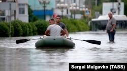 Наводнение в Керчи в июне 2021 года, иллюстрационное фото