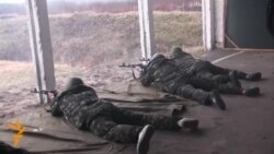 Vežba ukrajinske Nacionalne garde