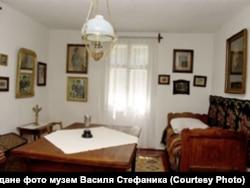 Інтер'єр кімнати Васися Стефаника у Русові