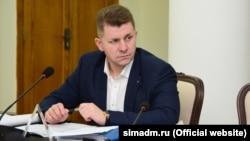 Заместитель главы российской администрации Симферополя Валентин Демидов