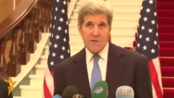 Kerry Reaffirms U.S. Security Pledge In Tajikistan