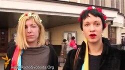 Femen, яких побили в Криму: це перший крок проти війни Путіна