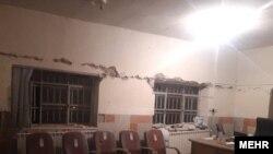 زمینلرزه در سیسخت. منبع: مهر