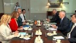 Матис: не сакаме да бидете запрени на прагот на НАТО