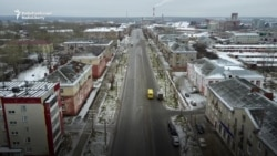 The Russian City Being Swallowed By Giant Sinkholes