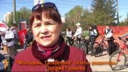 Казаннар велосипедта ярышты