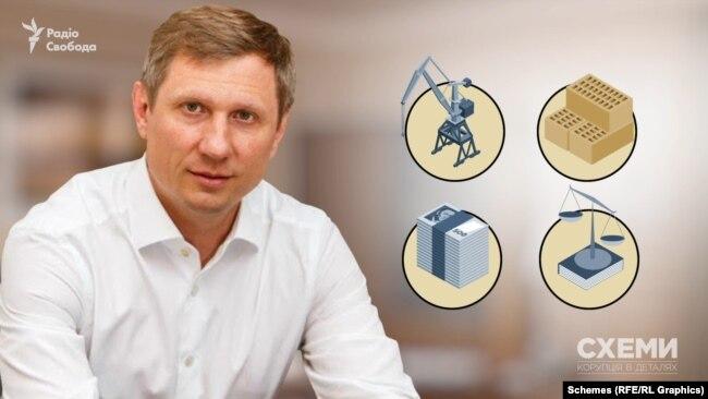 Із середини 2000-х Шахов був співвласником компаній, що спеціалізуються на будівництві, виготовленні цегли, фінансових і юридичних послугах