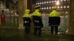 Inundații masive la Veneția