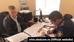 Обыски в российской администрации Евпатории, фото с сайта крымского управления Следкома России