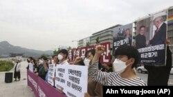 Cənubi Koreyada etiraz aksiyası, 12 iyun, 2020-ci il
