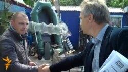Лябедзька агітуе на рынку «Экспабел»
