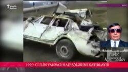 Azadlıq Radiosunun müxbiri Mehdi Məmmədov 20 yanvar hadisələrini xatırlayır