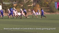 Kickoff In Kazakhstan: American Football Fever In Central Asia