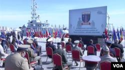 Навчання Defender Europe офіційно відкрилися 4 травня в порту Дуррес в Албанії