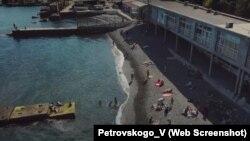 Ялта, Массандровский пляж