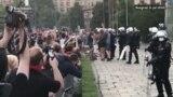 Incidenti ispred Skupštine Srbije