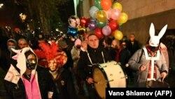 Акция неповиновения, организованная 6 февраля гражданами, выступающими за отмену действующих в стране ограничений