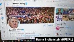 Твитер сметката на претседателот на САД Доналд Трамп