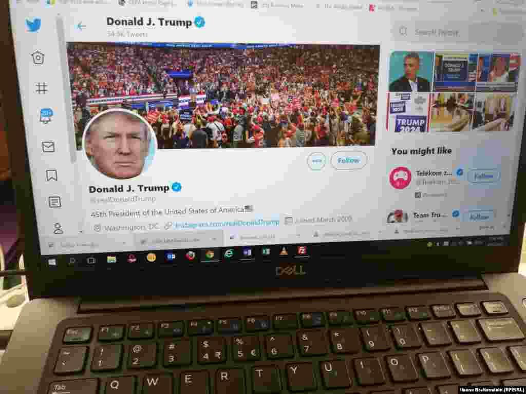 САД - Социјалната мрежа Твитер му забрани на изборниот штаб на американскиот претседател Доналд Трамп да продолжи да испраќа пораки на Твитер од својата сметка (TeamTrump) сè додека не го повлече видеото во кое претседателот уверува дека децата не можат да бидат заразени со коронавирусот.