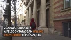 Online folytatódik az oktatás és a vizsgázás az egyetemeken
