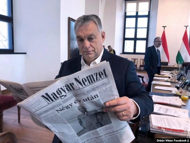 Віктор Орбан вже 11 років поспіль очолює уряд Угорщини
