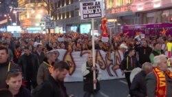 Skoplje: Novi protest protiv uvođenja dvojezičnosti
