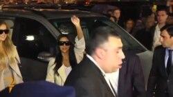 U.S. Celebrity Kim Kardashian Arrives In Armenia