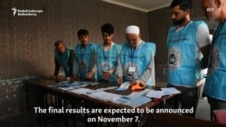 Afghan Presidential Vote Marred By Violence, Low Turnout