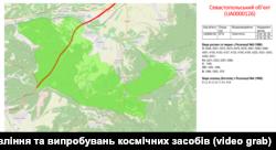 Севастопольський Смарагдовий об'єкт, карта НЦУВКЗ